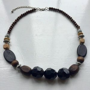Chunky Coconut Statement Necklace